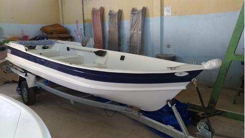 barco bote lancha fibra 5,60 capota artsol 40 anos fabrica