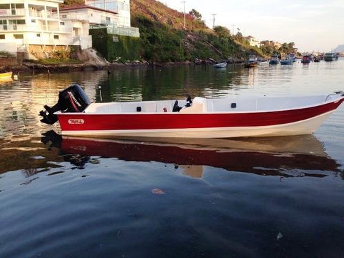 barco bote lancha fibra 5,60 c/console artsol direto fabrica
