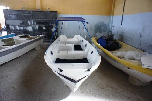 barco bote lancha fibra c/capota 5,60  artsol direto fabrica