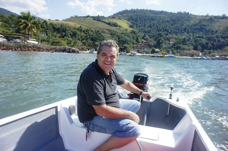 barco bote lancha fibra pesca 4.60 borda alta artsol fabrica