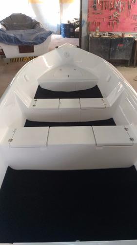 barco bote lancha fibra pesca 5,60 borda alta artsol 40 anos