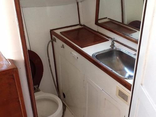 barco clásico de mardera