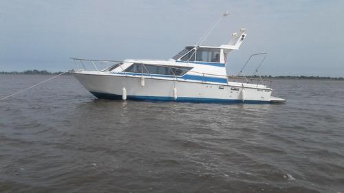 barco crucero   8.50 mt  motores turbo diesel