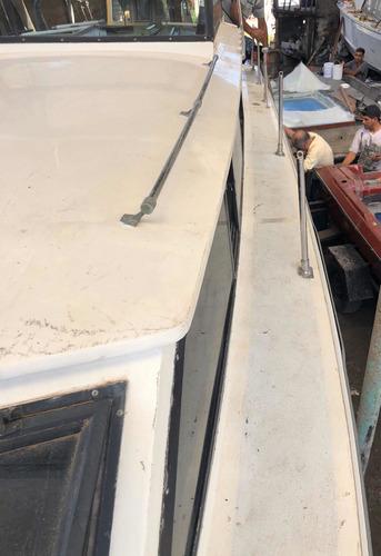 barco crucero america 30 2 motores pata volvo a restaurar