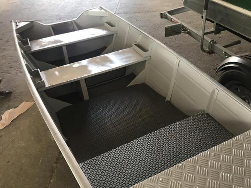 barco de alumínio 3,50 metros meia quilha promoção