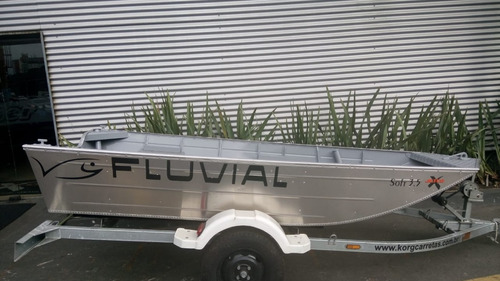 barco de alumínio 3,50 metros nao levefort metalglass