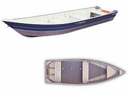 barco de aluminio 4,0m - aruak400 - 4m
