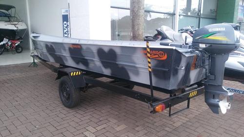 barco de alumínio 6m pesca beira rio ñ levefort petybrazil