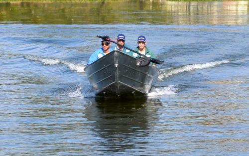 barco de alumínio 6m pesca levefort ñ beirario petybrazil