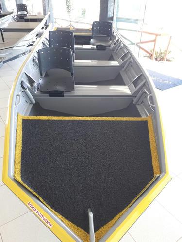 barco de alumínio calaça  flashbass profishing 500