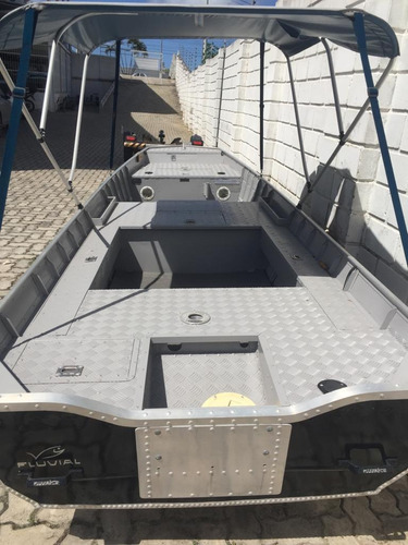 barco de aluminio  fluvial
