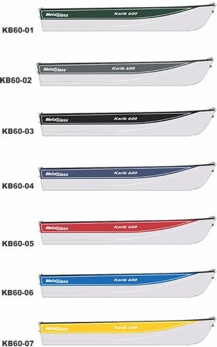 barco de alumínio karib 600