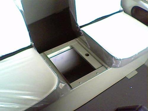 barco de alumínio karib 600 console