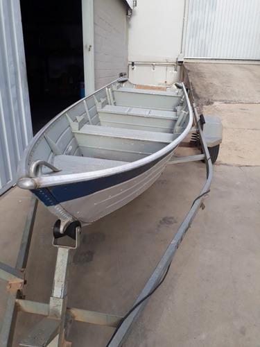 barco de alumínio levefort squalus 500