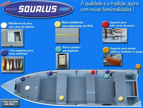 barco de aluminio levefort squalus 500 ba  ( miami nautica )