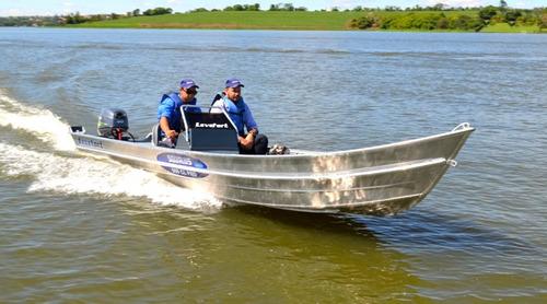 barco de aluminio levefort squalus cl 600  miami nautica