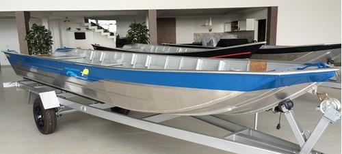 barco de alumínio pety brasil 600 de 6 metros