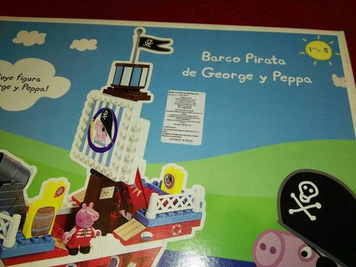 barco de peppa y george el barco pirata