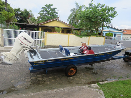 barco de pesca esportiva levefort big sabre motor etec 90hp
