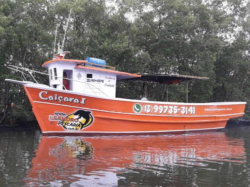 barco de pescaria em alto mar bertioga, aluguel, apoio