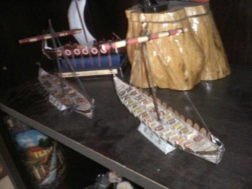 barco de serie vikingos (para armar en papel)  ragnar