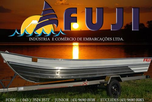 barco em aluminio  3 cavernas  entre os bancos