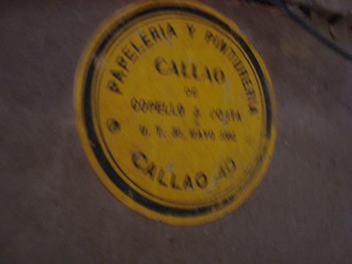 barco enmarcado oleo original d. piñona o piñones 1917