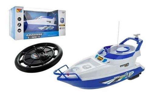 barco lancha de controle remoto de agua 4 canais brinquedo