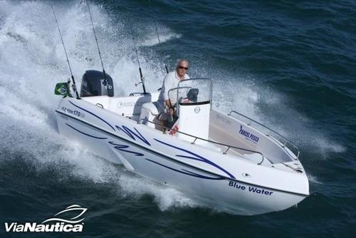 barco / lancha fly fish 170 full motor mercury 90 hp 4t