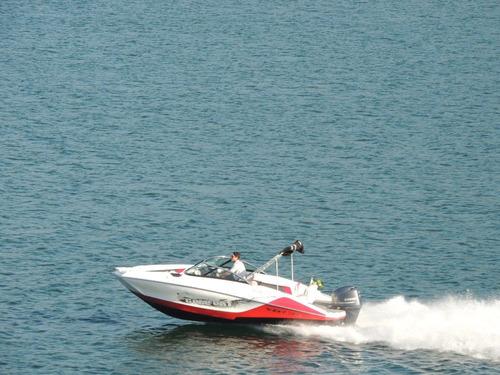 barco lancha ventura 215 c/ motor yamaha 115hp