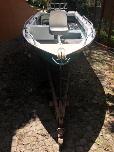 barco levefort marajo 16 1989 motor evinrude 50hp carreta