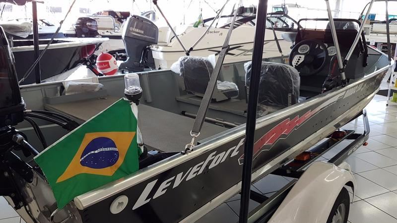 barco levefort marujo 550 tf motor mercury 40 hp 3cil. 2017