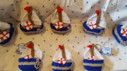 barco llavero souvenirs para baby shower, nacimiento