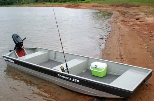 barco metalglass chata chatinha 350