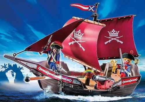 barco patrulla de los soldados piratas intek playmobil 6681