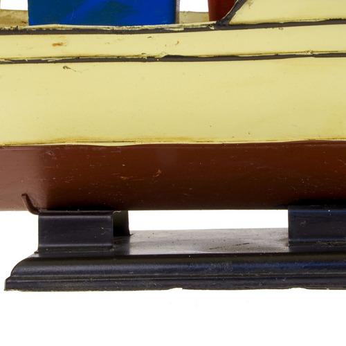 barco pesqueiro metal 1204e-2905 modelo reduzido