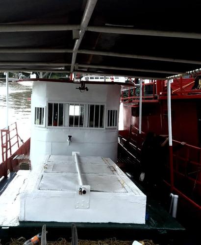 barco pesquero con permiso de combustible 413.820 l anual