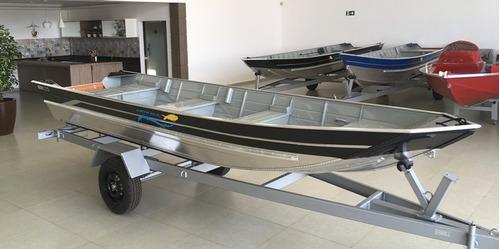 barco pety amazonas 500 sl -  ''semi chato''