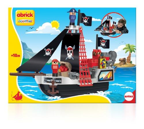 barco pirata bloques abrick 9024 antex educando