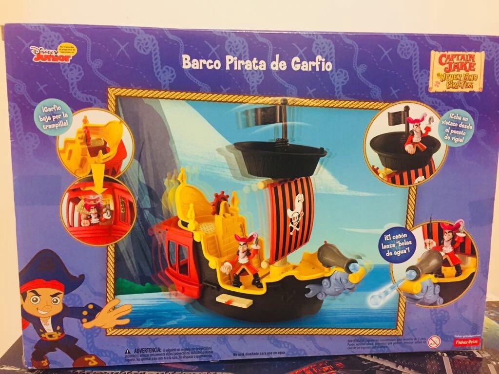Barco Pirata Capitán Garfio - Nofande