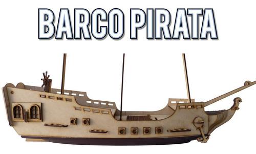 barco pirata galeon tipo corsario de combate