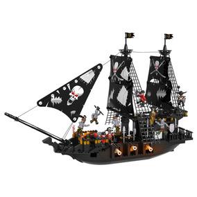 Piezas Bloques Gigante Pirata Barco Cogo 807 1KFlJc