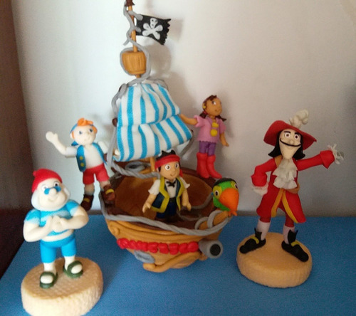 barco pirata jake y los piratas del nunca jamas