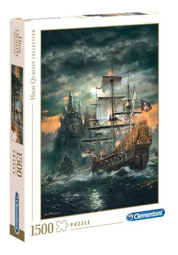 barco pirata sarel theron rompecabezas 1500 pz clementoni