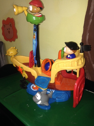 barco pirata shellcore juguete niños