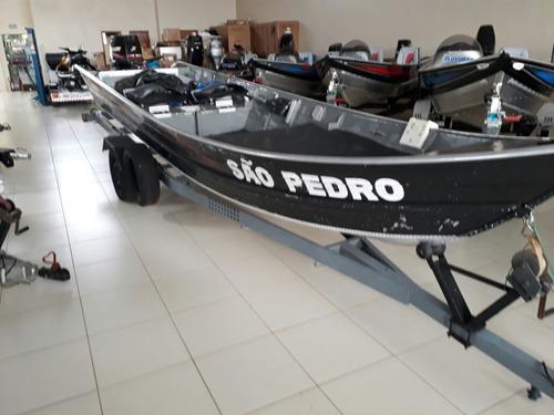 barco rio nautica tupi 600 com motor mercury 40 2t