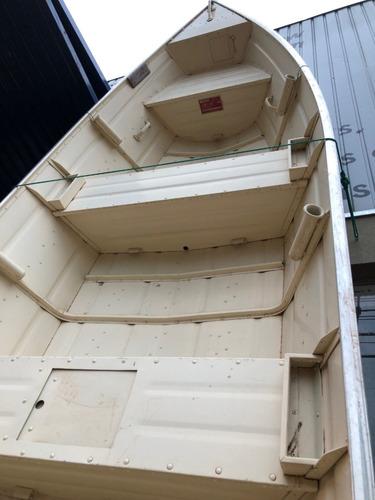 barco surubim 5.0 motor popa 20hp 4 tempos mercury e carreta