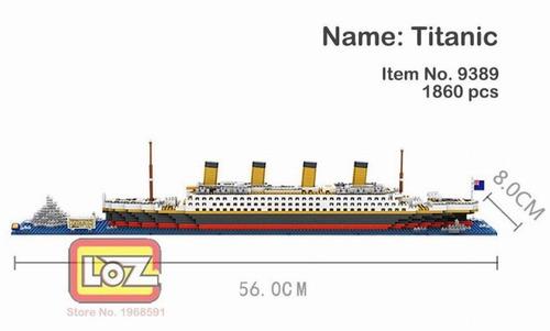 Barco Titanic Loz Diamond Block 1 Pieza - $ 999.00 en Mercado Libre
