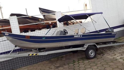 barco tornado 600 com yamah 20 hp 4 t ano 2014