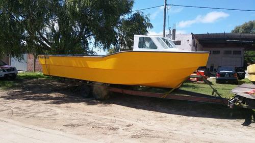 barco tracker baader track 9.80 0hs embarcación de trabajo